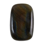 Natural Labradorite Gemstone - Cabochon Rectangle 16mm x 24mm - Pak of 1