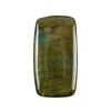 Natural Labradorite Gemstone - Cabochon Rectangle 22x40mm - Pak of 1