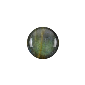 Natural Labradorite Gemstone - Cabochon Round 15mm - Pak of 1