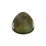 Natural Labradorite Gemstone - Cabochon Trillion 35mm - Pak of 1