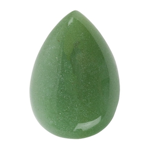 Natural Aventurine Gemstone - Cabochon Pear 18x25mm - Pak of 2