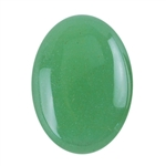 Natural Aventurine Gemstone - Cabochon Oval 13x18mm - Pak of 4