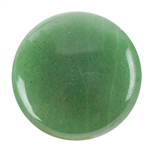 Natural Aventurine Gemstone - Cabochon Round 25mm - Pak of 2