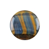 Natural Tiger Eye Blue Gemstone - Cabochon Round 35mm - Pak of 1