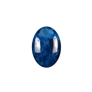 Blue Apatite Jasper Gemstone - Oval Cabochon 13x18mm - Pak of 1