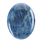 Blue Apatite Jasper Gemstone - Oval Cabochon 30x40mm - Pak of 1