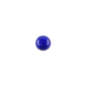 Natural Lapis Lazuli Gemstone - Cabochon Round 4mm - Pak of 2