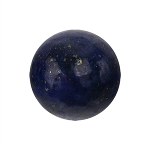 Natural Lapis Lazuli Gemstone - Cabochon Round 6mm - Pak of 1