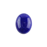 Natural Lapis Lazuli Gemstone - Cabochon Oval 8x10mm - Pak of 1