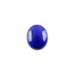 Natural Lapis Lazuli Gemstone - Cabochon Oval 10x12mm - Pak of 1