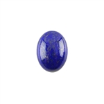 Natural Lapis Lazuli Gemstone - Cabochon Oval 12x16mm - Pak of 1