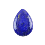 Natural Lapis Lazuli Gemstone - Cabochon Pear 18x25mm - Pak of 1