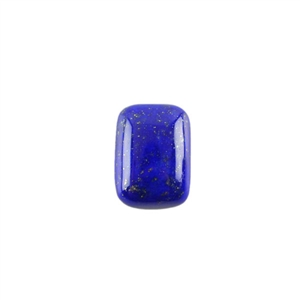 Natural Lapis Lazuli Gemstone - Cabochon Rectangle 10x14mm - Pak of 1