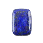 Natural Lapis Lazuli Gemstone - Cabochon Rectangle
