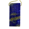 Natural Lapis Lazuli Gemstone - Rectangle Pendant 23mm x 49mm