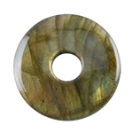 Natural Labradorite Gemstone - Cabochon Pear 22mm x 31mm - Pak of 1