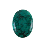 Stabilized Turquoise Gemstone - Cabochon Oval 25x34mm - Pak of 1