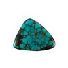 Stabilized Turquoise Gemstone - Cabochon Freeform 34x40mm - Pak of 1