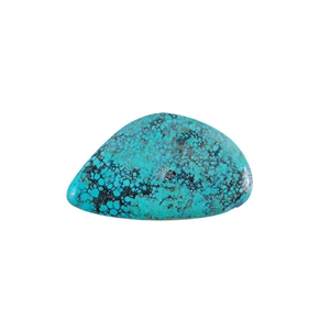 Stabilized Turquoise Gemstone - Cabochon Freeform 26x45mm - Pak of 1