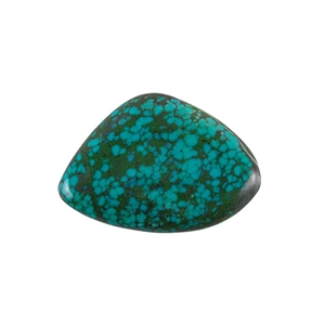 Stabilized Turquoise Gemstone - Cabochon Freeform 28x39mm - Pak of 1
