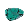 Stabilized Turquoise Gemstone - Cabochon Freeform 40x61mm - Pak of 1