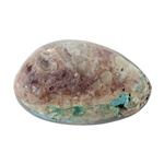 Stabilized Turquoise Gemstone - Cabochon Freeform 15mm x 24.5mm - Pkg of 1
