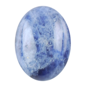 Natural Sodalite Gemstone - Cabochon Oval 6x8mm