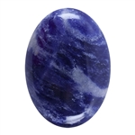 Natural Sodalite Gemstone - Cabochon Oval 13x18mm Pkg - 1