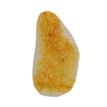 Natural Druzy Gemstone - Freeform 26mm x 49mm - Pak of 1
