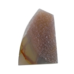 Natural Druzy Gemstone - Freeform 36mm x 51mm - Pak of 1