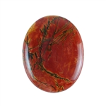 Red Creek Jasper Gemstone - Cabochon Oval 40x50mm - Pak of 1