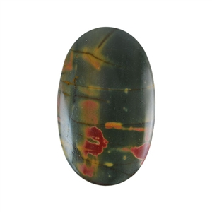 Red Creek Jasper Gemstone - Cabochon Oval 28x45mm - Pak of 1