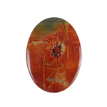 Red Creek Jasper Gemstone - Cabochon Oval 28x38mm - Pak of 1