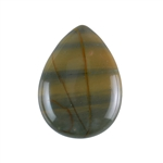 Red Creek Jasper Gemstone - Cabochon Teardrop 30x41mm - Pak of 1