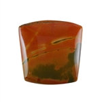Red Creek Jasper Gemstone - Cabochon Tapered Square 17x17mm - Pak of 1