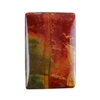 Red Creek Jasper Gemstone - Cabochon Rectangle 19mm x 29mm - Pak of 1