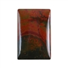Red Creek Jasper Gemstone - Cabochon Rectangle 20mm x 30mm - Pak of 1