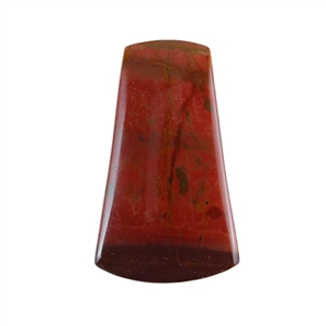 Red Creek Jasper Gemstone - Cabochon Bell 18x30mm - Pak of 1