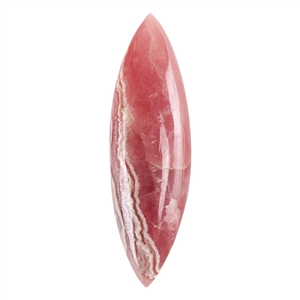 Red Creek Jasper Gemstone - Trillion Pendant 35mm - Pak of 1