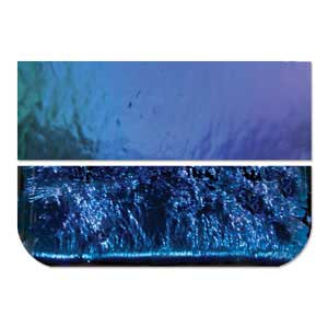 Glass - Dichroic - Blue