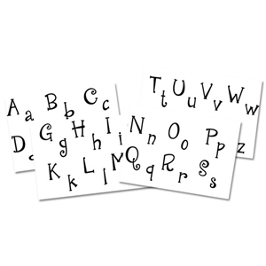 Jewel Stamps - Initials Complete Alphabet - Cute 'N Quirky
