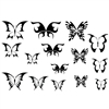 Jewel Stamps - Butterflies 2