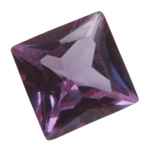 Lab Alexandrite: Square 4x4mm 2 pc - Pak of 2