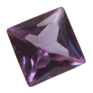Lab Gemstone - Alexandrite - Square