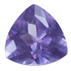Lab Alexandrite: Trillion 4x4mm 2 pc - Pak of 2
