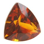 Lab Corundum Citrine: Trillion 8x8mm - Pak of 1