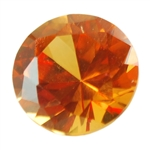Lab Gemstone - Golden Topaz - Round 6mm Pkg - 2