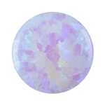 Imitation White Opal - Round 6mm Pkg - 2