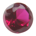 Lab Ruby: Round 6mm - Pak of 2