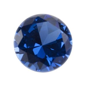 Lab Blue Spinel: Round 3mm - Pak of 5